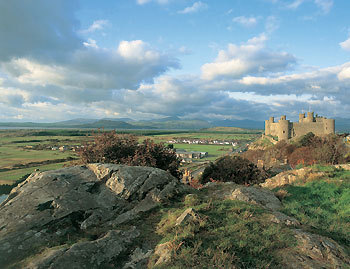 Harlech castle from the rocks.jpg